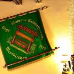 Die Fahne des Heimatvereins