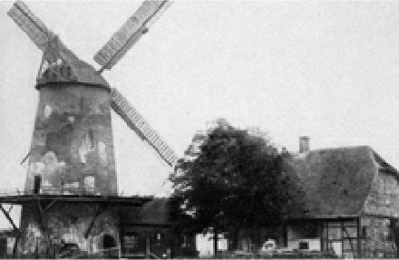 Die Mühle um 1900