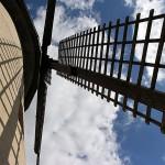 Aussicht vom Umgang (Mühlenflügel)