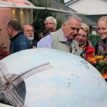 Christa Bannasch, Uwe Cohn und Martina Bruland (v. r.)