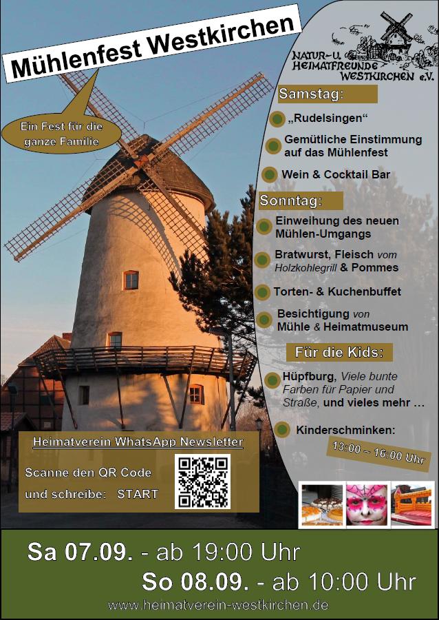 Mühlenfest Westkirchen 2019